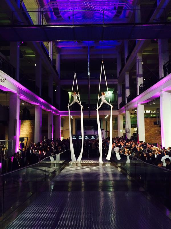 Science Museum Events Aerial Entertainment