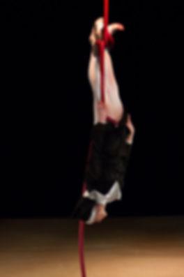 Katie Hardwick Nun Rope Act by Paul Harris Photography