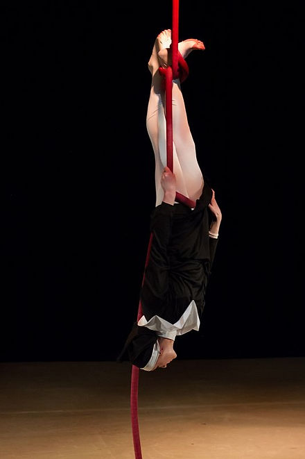Katie Hardwick Nun Rope Act by Paul Harris Photography
