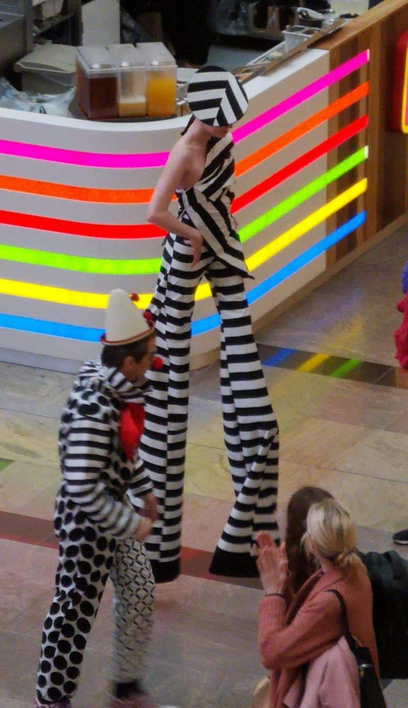 Catwalk Model Stilt Walker Katie Hardwick