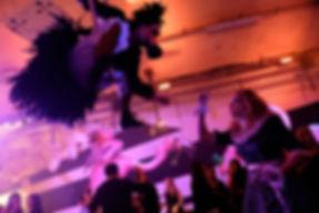 Dodo aerial hoop Alice Underground 2015