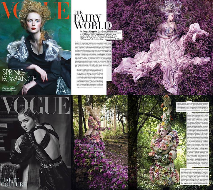 Kirsty Mitchell Wonderland in Vogue Italia Haute Couture special edition 2016
