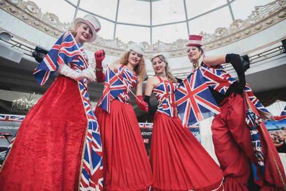 Cool Brits in Russia