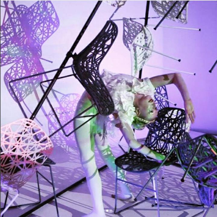 Katie Hardwick circus performance