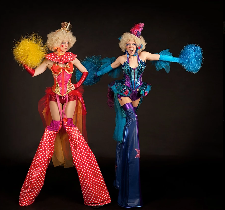 Circus Stilt Characters