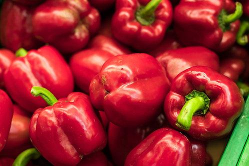 poivron rouge (la pièce)