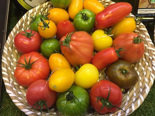 tomates anciennes  (le kg)