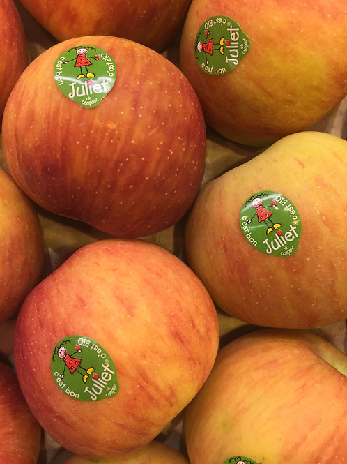 pommes  BIO JULIET (le kg)
