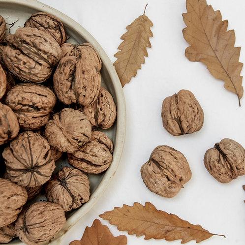noix fraîches avec coques (les 500g)