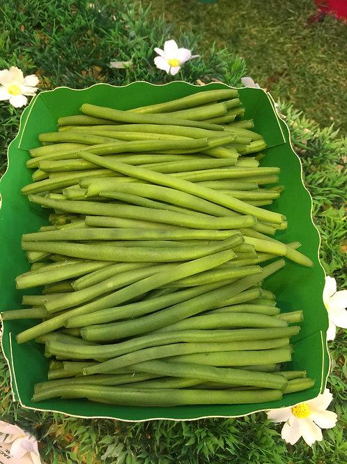 haricots verts extra fins  épluchés (250g)