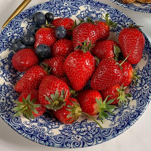 fraises (la barquette de 500g)