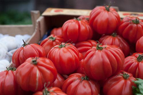 """tomates """"coeur de boeuf""""  (le kg)"""