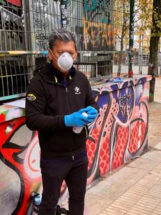 Street Artist Ken Polotan