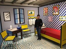 Roy Lichtenstein 3D Room - MOCO, Amsterdam