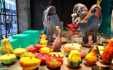 Halloween Chocolate Sculptures at Patrick Roger