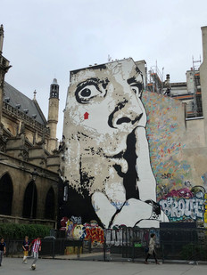 Street Art near Centre Pompidou