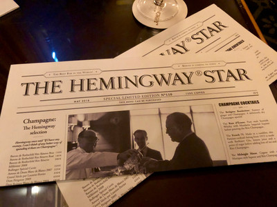 Hemingway Bar, Paris
