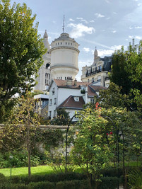 View from Musee Montmartre