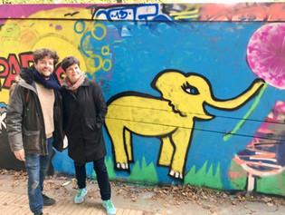 Jude and Thibault - Graffiti Workshop