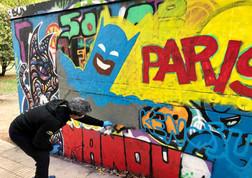 Ken Polotan, Graffiti Artist