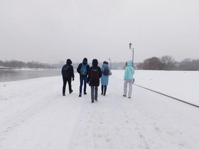 Участники прогулки