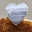 Thumbnail: Sterling Silver Blue Lace Agate Ring Size 7