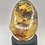 Thumbnail: Sterling Silver Mexican Amber Adjustable Ring
