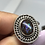 Thumbnail: Sterling silver Ammolite ring size 9
