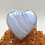 Thumbnail: Sterling Silver Blue Lace Agate Ring Size 8.5