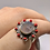 Thumbnail: Russian Dendritic Agate Coral Ring size-7.5