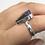 Thumbnail: Sterling Silver Australian Opal Ring Size 6.5