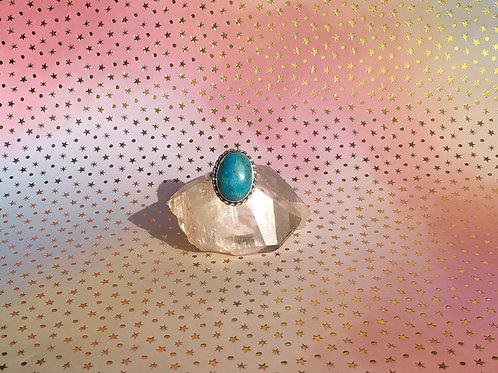 Kingman Turquoise ring size 9