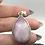 Thumbnail: Sterling Silver Kunzite Pendant