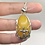 Thumbnail: Sterling Silver Yellow Chalcedony Pendant