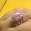 Thumbnail: Sterling Silver Rhodonite Ring Size 7.5
