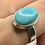 Thumbnail: Sterling Silver Amazonite Ring Size 11