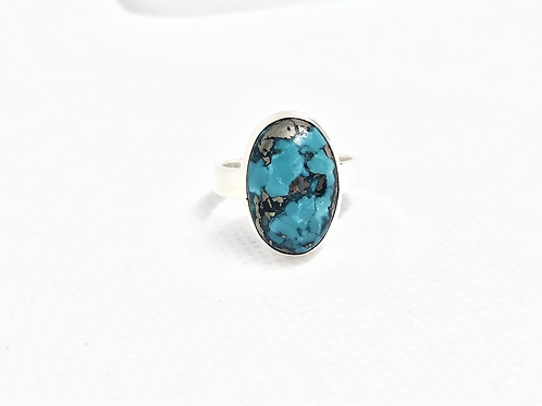 Persian turquoise ring 8