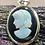 Thumbnail: Sterling Silver Cameo Pendant