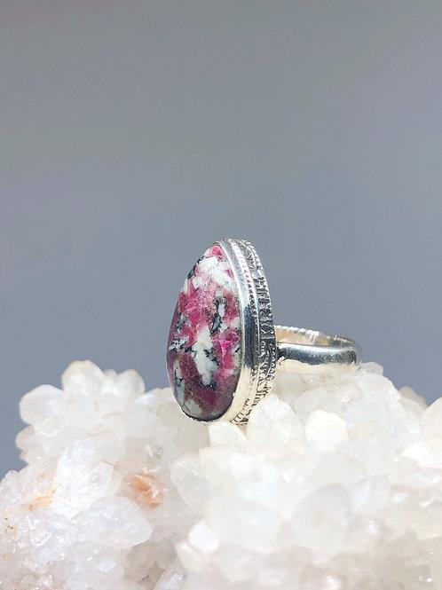 Jasper Ring Size 6