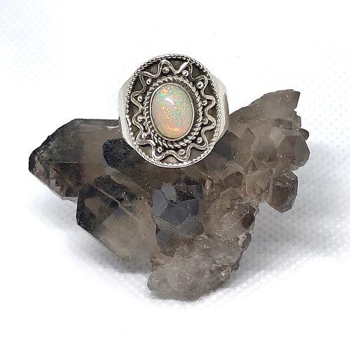 Ethiopian Opal ring size 6