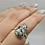 Thumbnail: Sterling Silver Buffalo Turquoise Ring Size 8.5