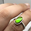 Thumbnail: Sterling Silver Ammolite Ring Size 5.5