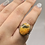Thumbnail: Bumblebee Jasper Ring Size 8.5