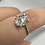 Thumbnail: Sterling Silver Herkimer Diamond Ring Size 8