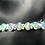 Thumbnail: Sterling Silver Ethiopian Opal Bracelet