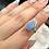 Thumbnail: Sterling  Silver Australian Doublet Opal Ring Size 5.5