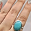Thumbnail: Sterling Silver Amazonite Ring Size 10