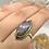 Thumbnail: Sterling Silver Purple Labradorite Ring Size 8