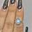 Thumbnail: Moonstone ring size 5