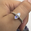 Thumbnail: Sterling Silver Moonstone Ring Size 12
